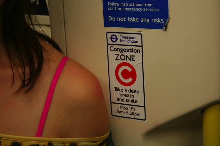 Culture jamming on the London Underground